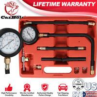 Fuel Injection Pump Injector Tester Test Pressure Gauge Kit Gasoline Clamps Hose