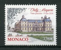 Monaco 2018 MNH Chilly-Mazarin Grimaldi Strongholds 1v Set Architecture Stamps