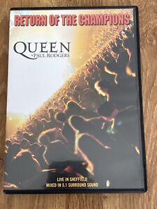 Queen and Paul Rodgers - Return Of The Champions - LIVE - Region 2 DVD