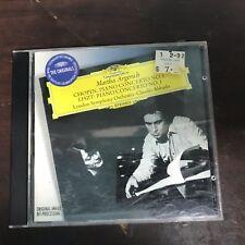 MARTHA ARGERICH CHOPIN PIANO CONCERTO 1 LISZT PIANO CONCERTO 1 1996