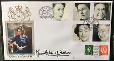 Buckingham 2002 Queen's Golden Jubilee FDC signed COUNTESS MOUNTBATTEN of BURMA