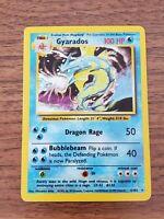 Pokemon Card Gyarados Base Set Holo 6/102 Rare