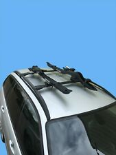 Aluminium Roof Rack Cross Bar Set for BMW X3 E83 2006-2008 Black Anodised