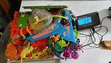 Huge Accessories  Lot  3 lbs Vintage TMNT Ninja Turtles Must See! Over 220 parts