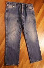 Wrangler Denim Pants Sz 38 30 Blue Jeans Casual Means