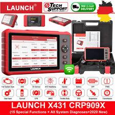Launch X431 CRP909X Pro Profi KFZ Diagnosegerät Auto OBD2 Scanner ALLE SYSTEM DE