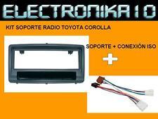 MARCO Soporte Radio TOYOTA COROLLA 2002  + conexión KIT