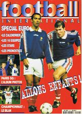 FOOTBAL INTERNATIONAL N°20  1996  special euro   Football