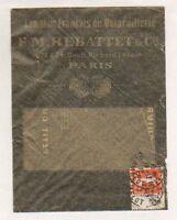 """PARIS (XI°) QUINCAILLERIE / CUIVRERIE & OUTILLAGE """"F.M. REBATTET & Cie"""" en 1912"""
