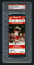 PSA 7 VLADIMIR KONSTANTINOV Unused NHL Ticket for the Canadiens at the Red Wings