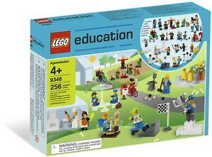 LEGO Education Community Minifigures Set (9348) (damage to box - All pieces