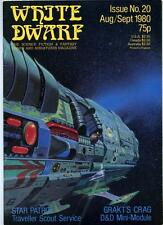 White Dwarf #20 - Aug/Sept 1980 - D&D AD&D - Dungeons and Dragons - TSR