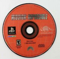 PS1 Mission: Impossible (Sony PlayStation 1, 1999) Disc Only Tested