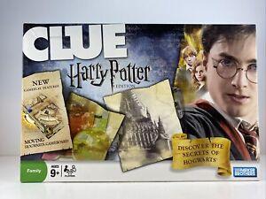 CLUE Harry Potter Edition 2008 100% Complete Parker Brothers Hogwarts Dumbledore
