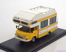 1:43 Istmodels Barkas B1000 Caravan 1973 white/yellow
