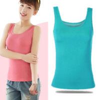 Women Classic Camisole Sleeveless Loose Blouse Vest Tank Top Summer Plus 2XL-6XL