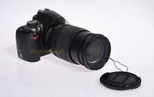 77mm Snap Clips Lens Cap Cover for Sony Nikon Pentax Panasonic Canon Fuji UK