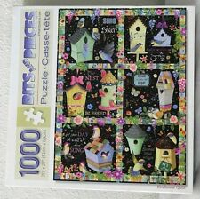 Bits and Pieces JIGSAW PUZZLE 'BIRDHOUSE QUILT' # 41888 PREOWNED 1000 pc