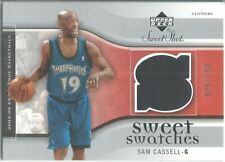 2005-06 Ud Sweet Shot #Sw-Sc Sam Cassell T'Wolves Sweet Swatches P/W Relic /250