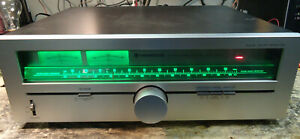 KENWOOD VINTAGE TUNER KT 615 Tested Checked Working Condition New LED's