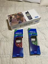 Vintage Nokia 5125 Cell Phone & Charger New In Box PLUS 2 New Color faceplates