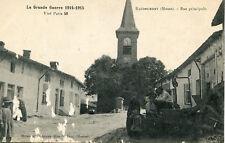 Carte BAUDREMONT Rue Principale Grande Guerre 1914 1915