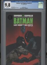 BATMAN LAST KNIGHT ON EARTH #3 MT 9.8 CGC WHITE PAGES CAPULLO ART AND COVER SNYD
