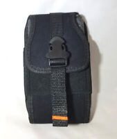 Reiko Rugged Vertical Buckled Phone Pouch Case Belt Clip Holster for Motorola