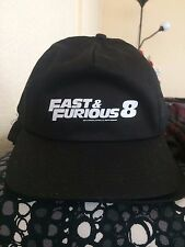 FAST & FURIOUS 8 Hat Cap OFFICIAL MOVIE PROMOTIONAL F1 Universal Studios 2017