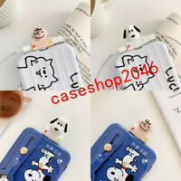 Cartoon Snoopy Adapter For iPhone Splitter Audio Earphone Charger Dual Lightning