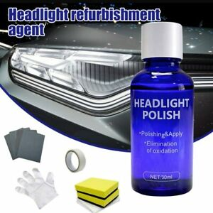 Car Accessories 9H Headlight Cover Len Restorer Repair Liquid Polish Cleane
