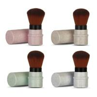 Professional Retractable Makeup Powder Blush Foundation Face Brush for Travel