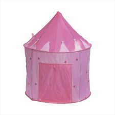 Pink Princess Castle Play Tent Play House for Girls Kids Outdoor Indoor Portable