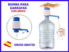 BOMBA MANUAL para Garrafas de Agua CON GRIFO Dispensador Garrafa botella