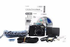 CANON PowerShot G9 12.1 MP Black Digital Camera Excellent++ From Japan