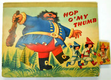 1962 Kubasta DOUBLE POP-UP Hop O' My Thumb & Jack And The Bean-Stalk
