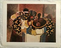 BEAUTIFUL VINTAGE STILL LIFE ART PRINT POSTER BY GEORGES BRAQUE LE JOUR FRANCE