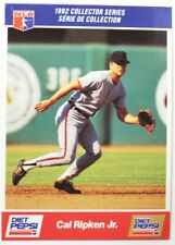 1992 Cal Ripken JR Diet Pepsi Collector's Series Card # 17 of 30