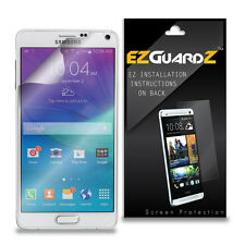 1X EZguardz LCD Screen Protector Shield HD 1X For Samsung Galaxy Note 4 (Clear)