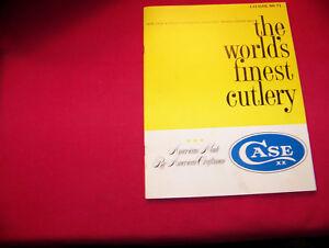 Vintage Original Case XX Cutlery Manufacturers 1974 #71 Catalog Book Mint