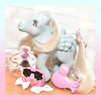 ❤️My Little Pony MLP G1 VTG UK MOVIE STAR Euro Wind Whistler Non So Soft BRUSH❤️