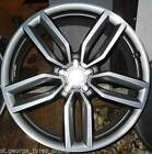 """18"""" APEC STYLE TO FIT AUDI SQ5 S3 WHEELS & TYRES POLISHED GREY EDITION S-LINE"""