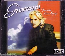 GIOVANNI Favorite Love Songs 3CD Greatest Classic EVERYBODYS TALKING BORN FREE