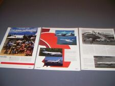 VINTAGE..AIR NIUGINI AIRLINES HISTORY...HISTORY/PHOTOS/DETAILS...RARE! (308P)