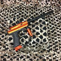 *USED* Azodin Kaos 2 Semi-Auto Paintball Gun Marker - Orange