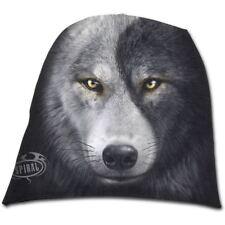 Espiral Lobo Chi Yin Yang Negro Direct Gótico Algodón Ligero Beanie Hat