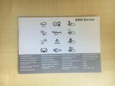 BMW SERVICE BOOK BRAND NEW GENUINE 1 2 3 4 5 6 7 8 X1 X3 X4