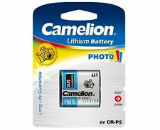 Camelion 223 Lithium Photo Battery Cr223 DL223 CR-P2 6v CRP2 CR P2 German Brand