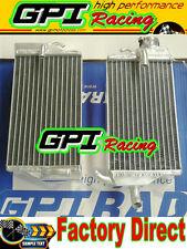 R&LH aluminum Radiator fit Honda CR125 CR125R CR 125R 02 -03 2002 2003
