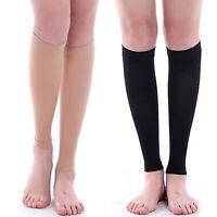 Pair Of Calf Compression Sleeves Brace Support Sleeve Shin Splints Muscle Pain